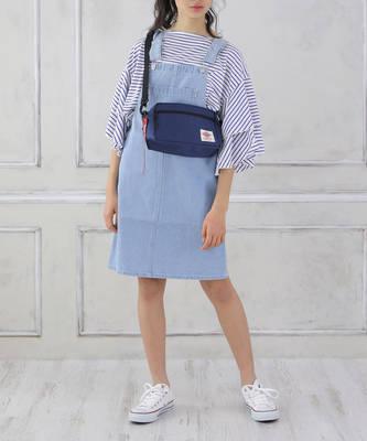 デニムジャンパースカート[2色展開]