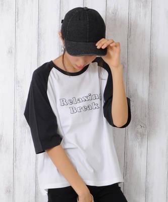 【LACEEQ】【スペシャルセール】ラグランTシャツ[2色展開]