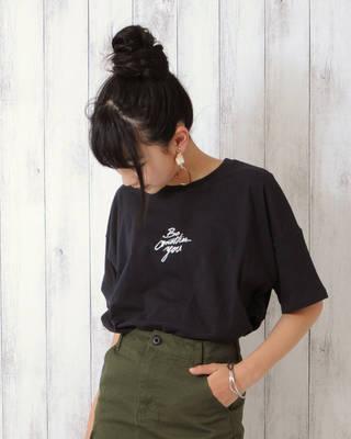 【LACEEQ】【スペシャルセール】ビッグサイズTシャツ[2色展開]