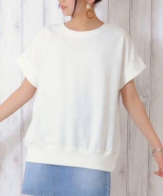 【LACEEQ】【スペシャルセール】スウェットTシャツ[2色展開]