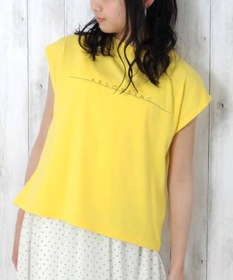 【LACEEQ】【スペシャルセール】ミニハイネックノースリーブTシャツ[2色展開]