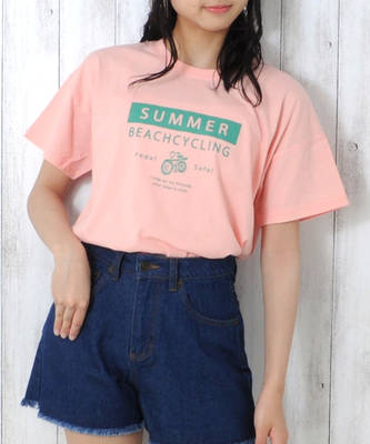 【LACEEQ】【スペシャルセール】ショート丈Tシャツ[2色展開]