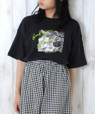 【LACEEQ】【スペシャルセール】ビックシルエットTシャツ[2色展開]